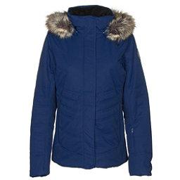 Obermeyer Tuscany II w/ Faux Fur - Petite Womens Insulated Ski Jacket, Dusk, 256