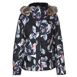 Obermeyer Tuscany II w/ Faux Fur - Petite Womens Insulated Ski Jacket, Mahalo Print, 256