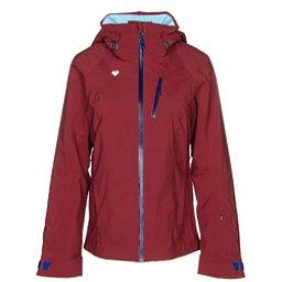Obermeyer Jette Womens Insulated Ski Jacket, Major Red, 256