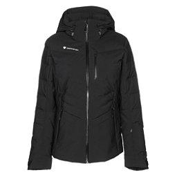 Obermeyer Cosima Down Womens Insulated Ski Jacket, Black, 256