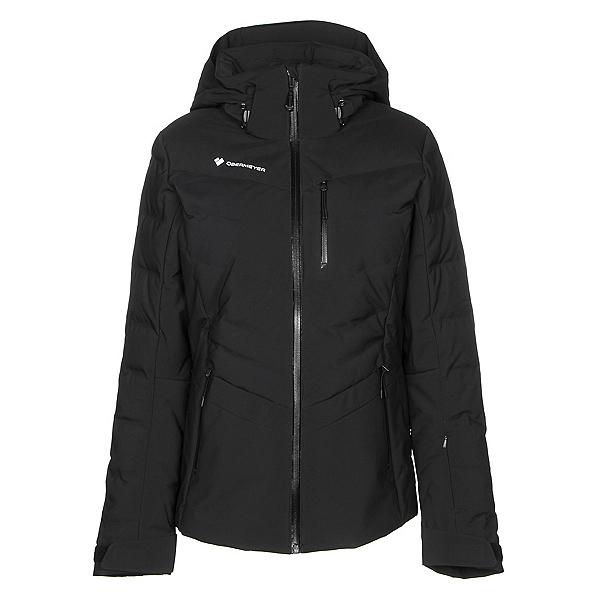 Obermeyer Cosima Down Womens Insulated Ski Jacket, Black, 600