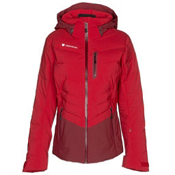 Obermeyer Cosima Down Womens Insulated Ski Jacket, Red Bravado, 256