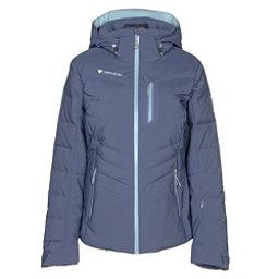 Obermeyer Cosima Down Womens Insulated Ski Jacket, Into The Blue, 256