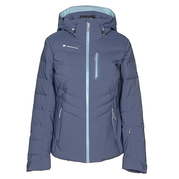 Obermeyer Cosima Down Womens Insulated Ski Jacket, Into The Blue, 600