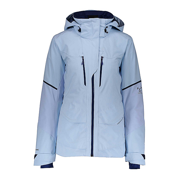 Obermeyer Kahina Womens Insulated Ski Jacket, Icescape Blue, 600