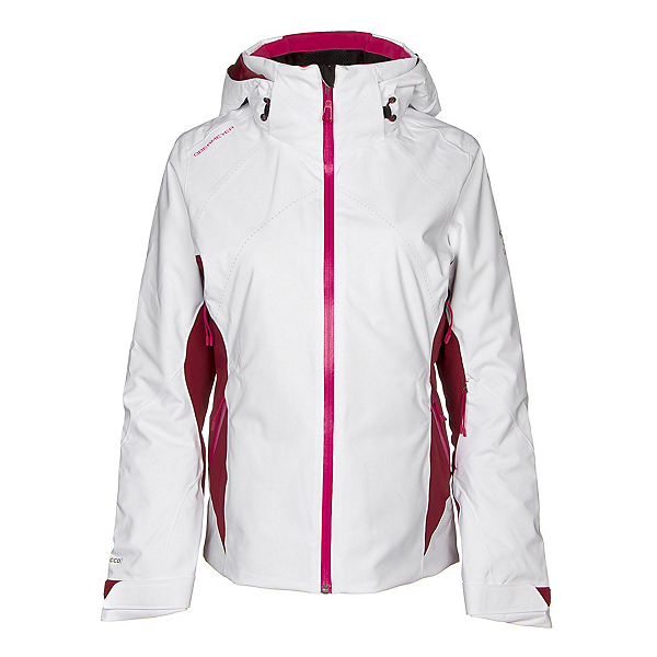 Obermeyer Mai Womens Insulated Ski Jacket, White, 600