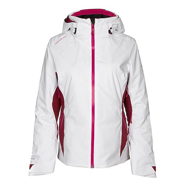 Obermeyer Mai Womens Insulated Ski Jacket 2019, White, 600
