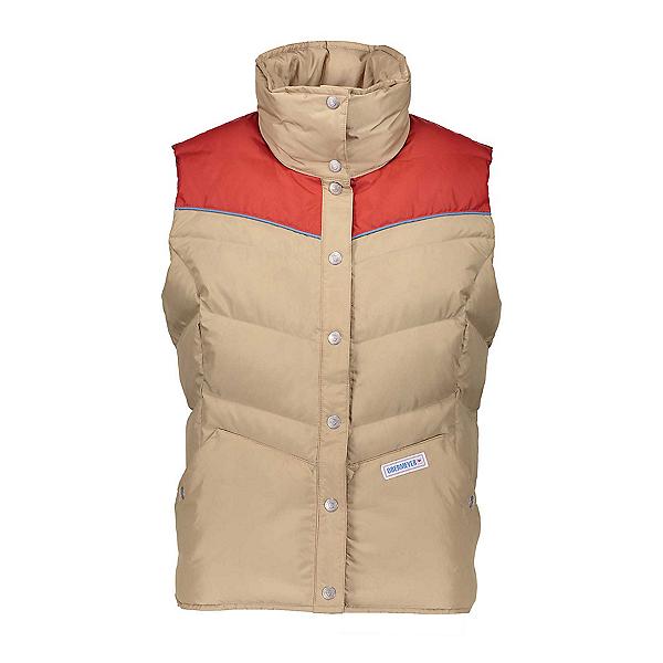 Obermeyer Carson Down Womens Vest, Sand Storm, 600