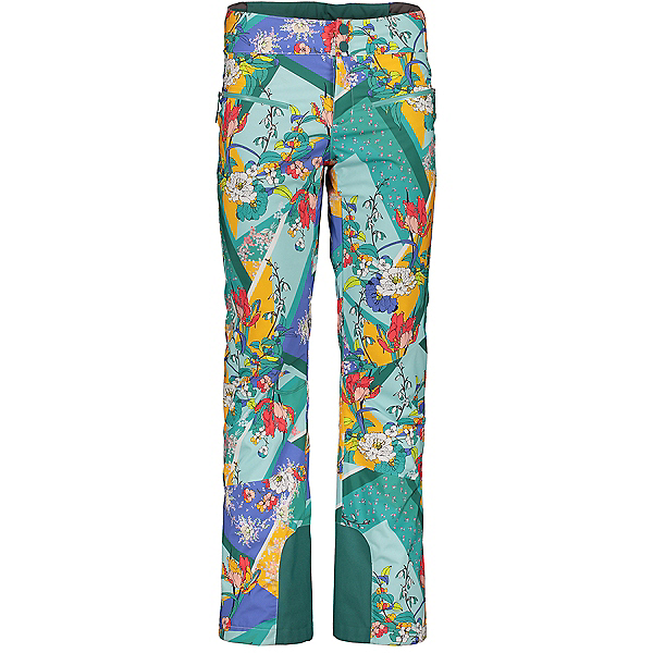 Obermeyer Bliss Womens Ski Pants, Bay And Bloom, 600