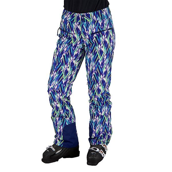 Obermeyer Bliss Womens Ski Pants 2022, Cosmic Rays, 600