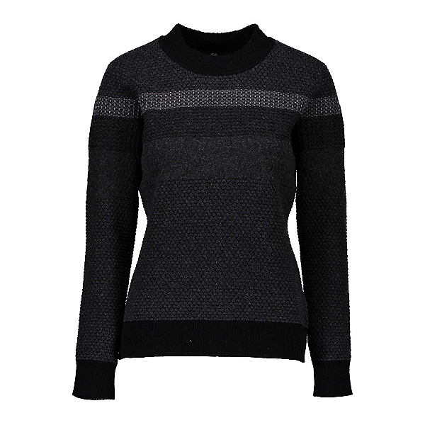 Obermeyer Chevoit Crew Womens Sweater, Black, 600