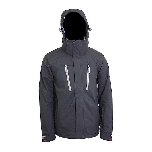 Turbine Cornice Mens Insulated Snowboard Jacket, Black, 600