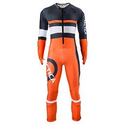 Arctica Youth Racer GS Race Suit, Midnight-Orange, 256