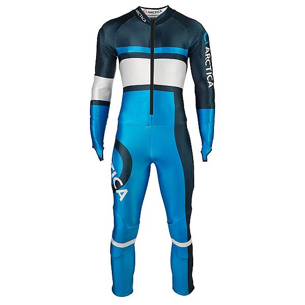 Arctica Youth Racer GS Race Suit, Midnight-Ocean, 600