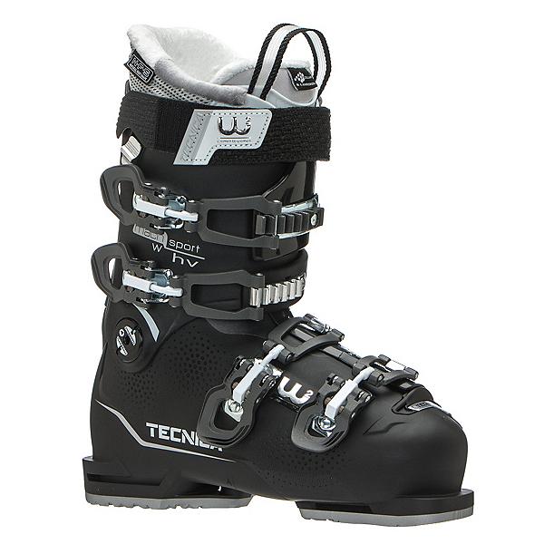 Tecnica Mach Sport 95 HV W Womens Ski Boots, Black, 600