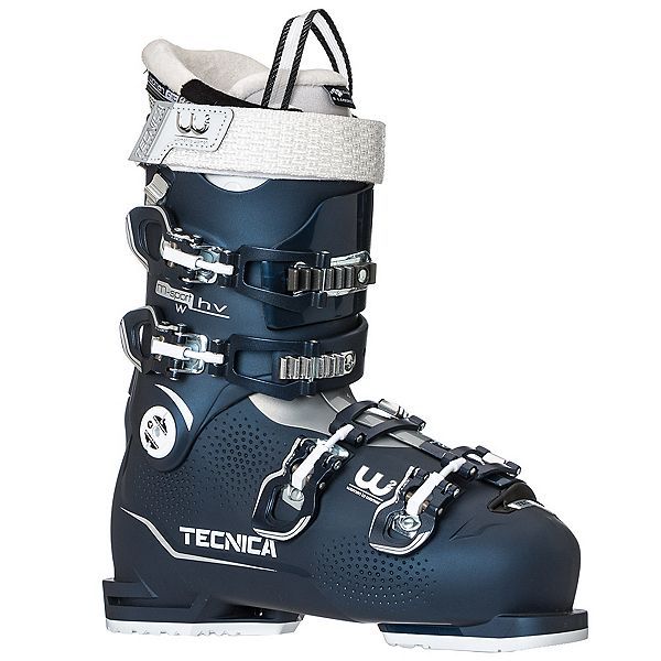 Tecnica Mach Sport 85 W HV Womens Ski Boots, Night Blue, 600