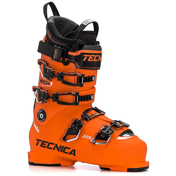 Tecnica Mach 1 130 MV Ski Boots, Ultra Orange, 600