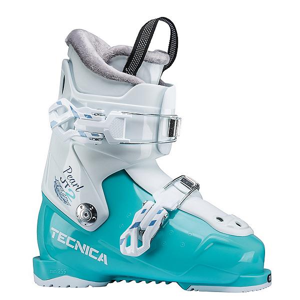 Tecnica JT 2 Pearl Girls Ski Boots, Light Blue, 600