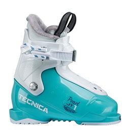 Tecnica JT 1 Pearl Girls Ski Boots 2019, Light Blue, 256