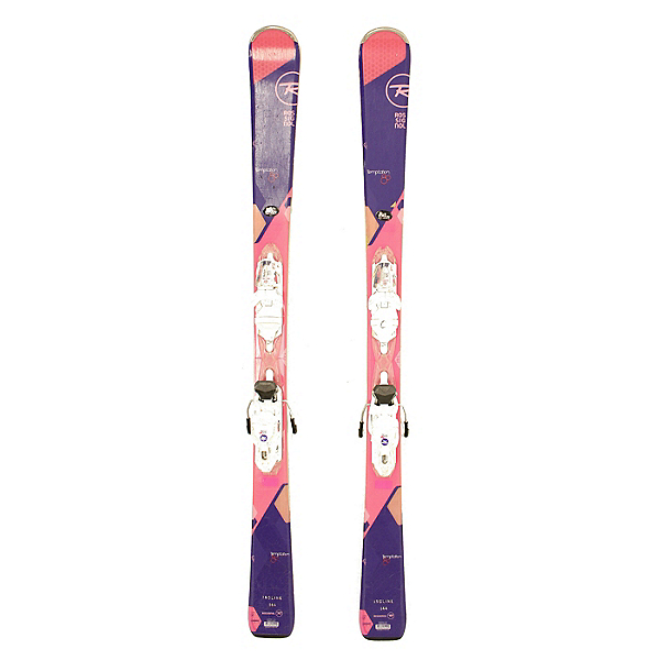 Used 2016 Womens Rossignol Temptation 80 Skis Rossi Xelium 110 Bindings C Condition, , 600