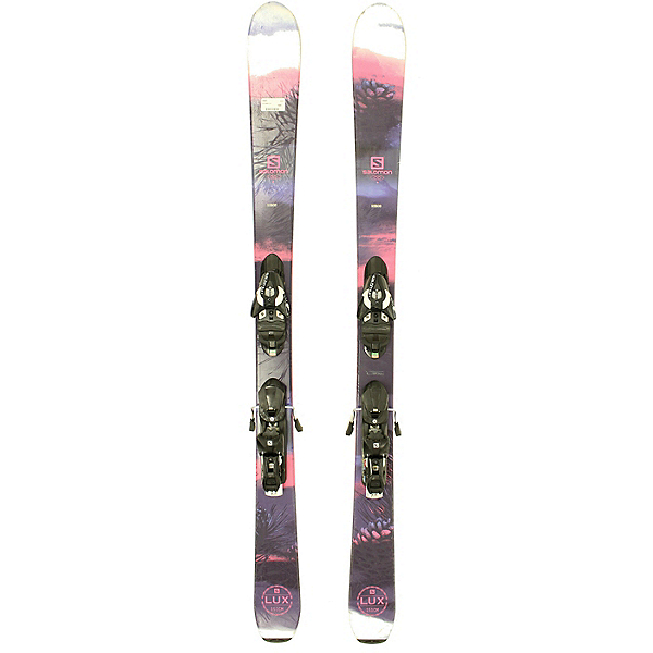 Used 2016 Womens Salomon Lux Q-88 Skis with Salomon Z10 Bindings C Condition, , 600