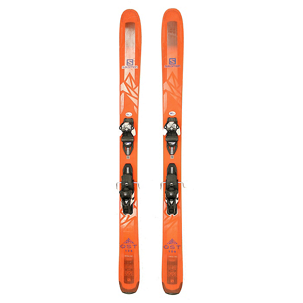 Used 2018 Salomon QST 106 Skis with Warden 13 Bindings A Condition, , 600