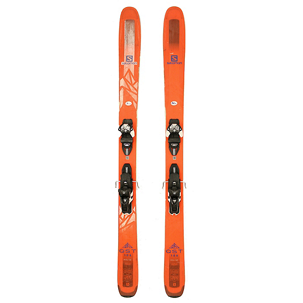 Used 2018 Salomon QST 106 Skis with Warden 13 Bindings C Condition, , 600