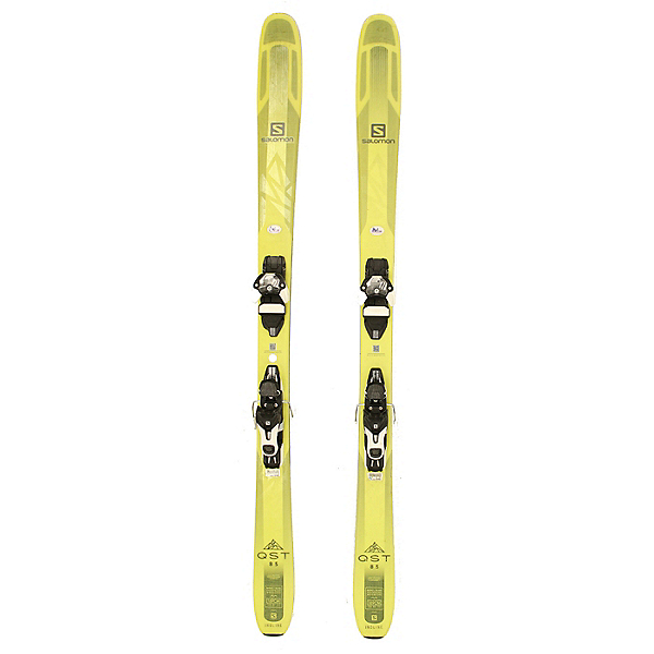 Used 2018 Salomon QST 85 Skis with Warden 13 Bindings C Condition, , 600