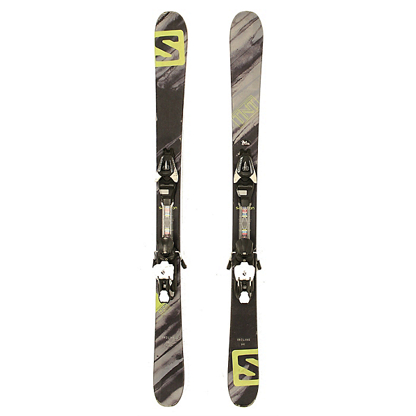Used 2016 Salomon TNT Skis with Lithium 7 Bindings C Condition, , 600