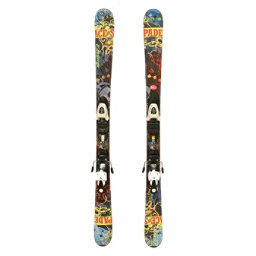 Used 2012 Nordica Ace Jr Skis Salomon T5 Bindings A Youth Size Twin Tip, , 256