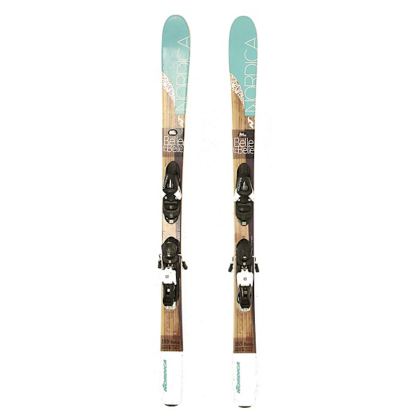 Used 2016 Womens Nordica Belle to Belle Skis Salomon L10 Bindings C Cond, , 600