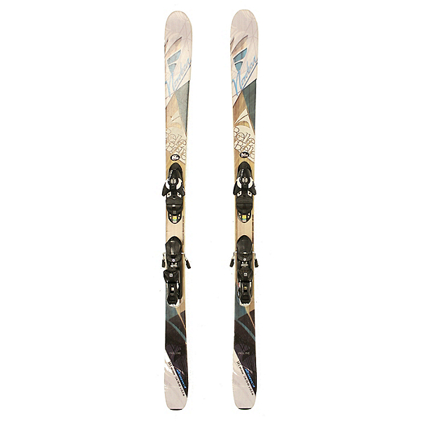 Used 2015 Womens Nordica Belle to Belle Skis Salomon L10 Bindings A Cond, , 600