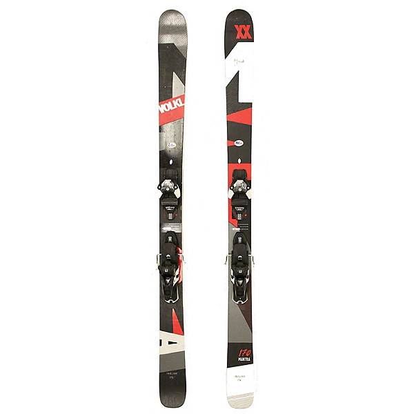 Used 2017 Volkl Mantra Skis With Warden 13 Bindings C Condition, , 600