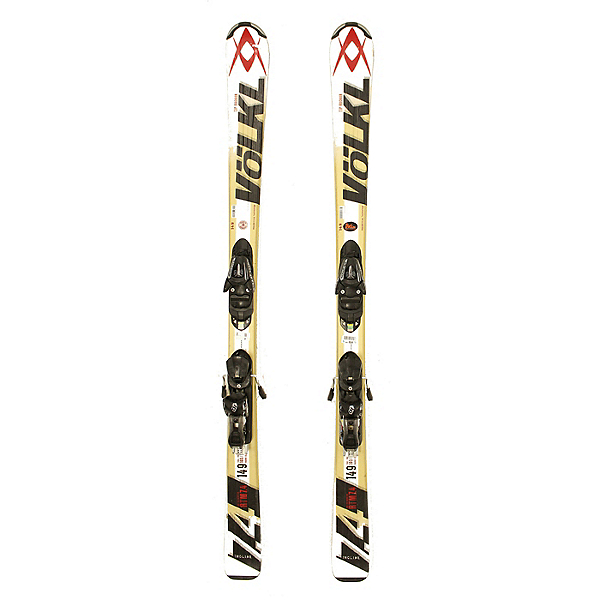 Used Volkl RTM 7.4 Skis with Salomon L10 Bindings C Condition, , 600