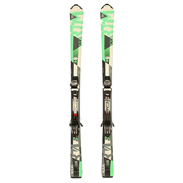 Used 2017 Volkl RTM 8.0 Skis with Lithium 10 Bindings A Condition SALE, , 600