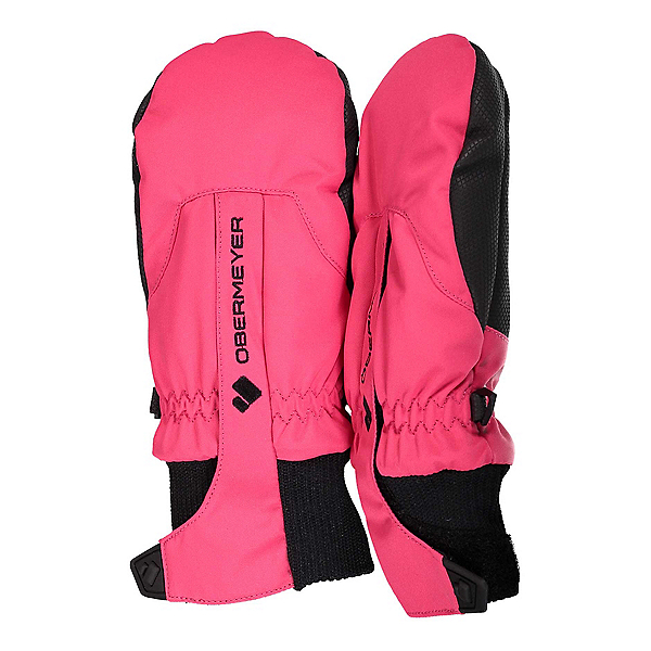 Obermeyer Thumbs Up Toddlers Mittens, Pink Out, 600