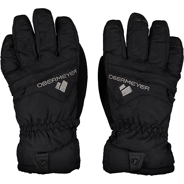 Obermeyer Lava Kids Gloves, Black, 600