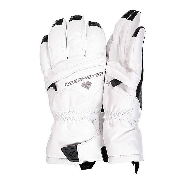 Obermeyer Lava Girls Gloves 2022, White, 600