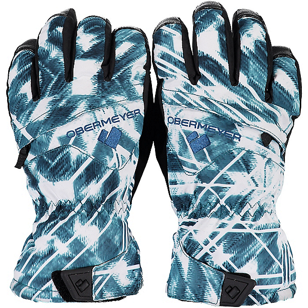 Obermeyer Lava Girls Gloves, Southwest Blues, 600