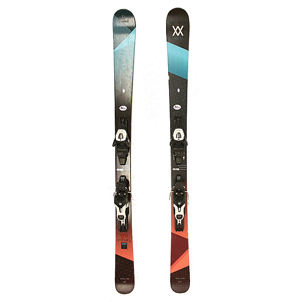 Used 2017 Womens Volkl Yumi Skis with Lithium 10 Bindings C Cond, , 600