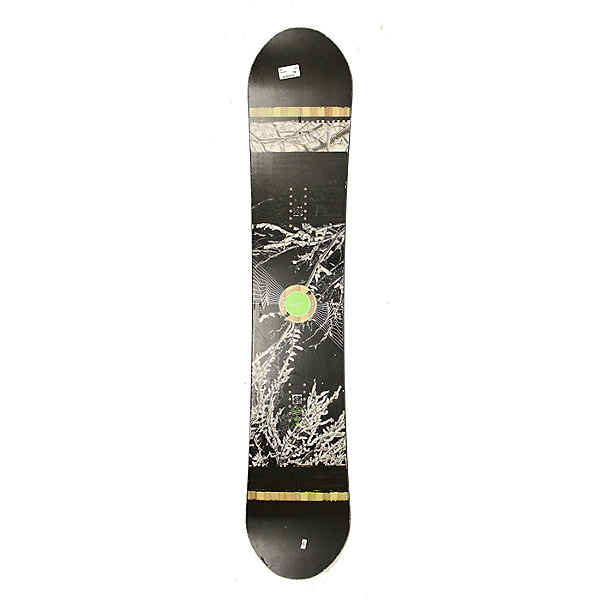 Used 2017 Rome Agent Snowboard Deck Only No Bindings C Condition, , 600