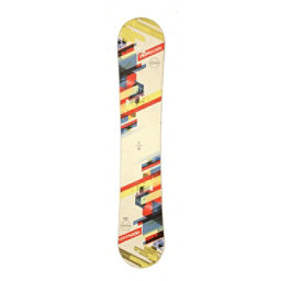 Used High Society Bonzai Snowboard Deck Only No Bindings C Cond, , 256