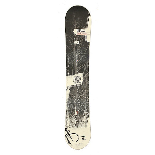Used High Society Eminence Snowboard Deck Only No Bindings A Cond, , 600