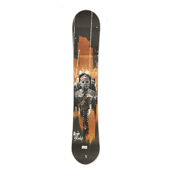 Used High Society Empire Snowboard Deck Friday the 13th C Condition, , 600