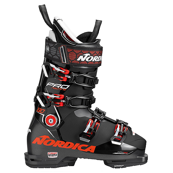 Nordica Promachine 130 Ski Boots, Black-Red, 600