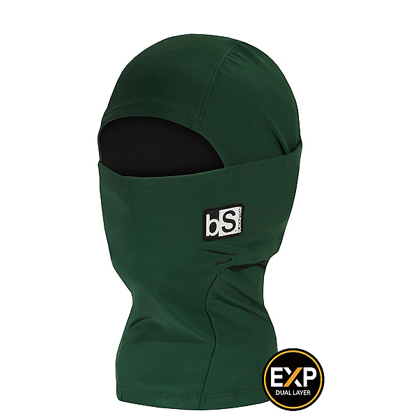 BlackStrap The Kids Expedition Hood Kids Balaclava, Forest Green, 600