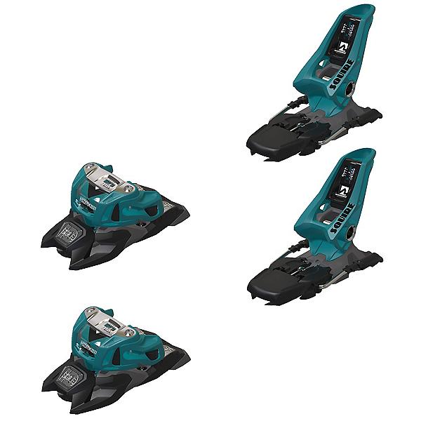 Marker Squire 11 ID Ski Bindings, Teal-Black, 600
