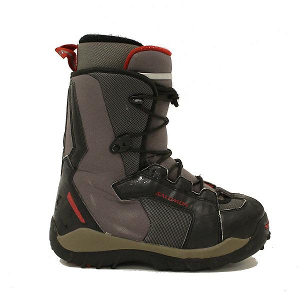Used Kids Salomon Talapus Snowboard Boots Youth Size, , 600