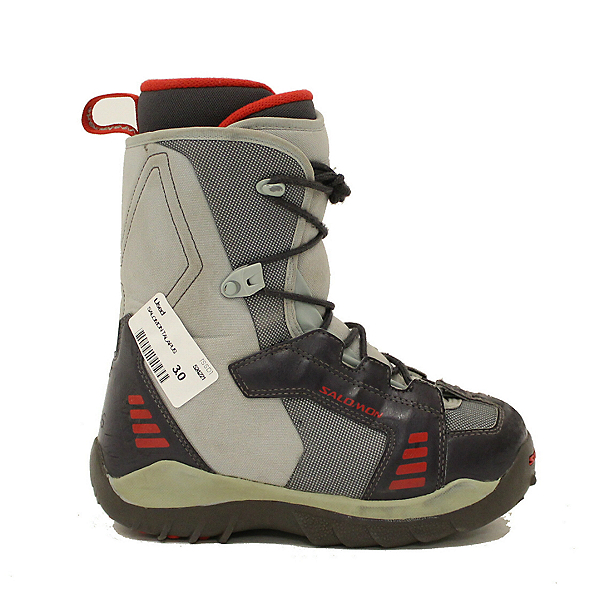 Used Kids Salomon Talapus Snowboard Boots Youth Size SALE, , 600