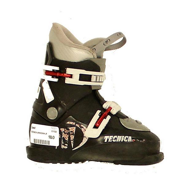 Used Kids Tecnica RJ Junior Ski Boots Toddler Size 11.5, , 600